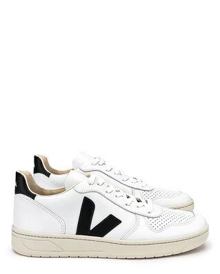 Veja V-10 Leather Extra White/Black