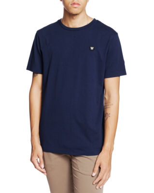 Wood Wood Ace T-Shirt Navy