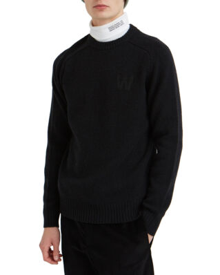 Wood Wood Kevin Sweater Black-Import FW19