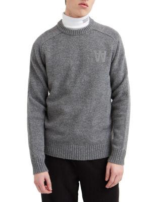 Wood Wood Kevin Sweater Grey Melange
