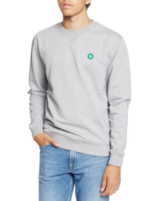 Wood Wood Tye Sweatshirt Grey Melange