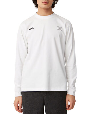 Wood Wood Anakin Long Sleeve Bright White