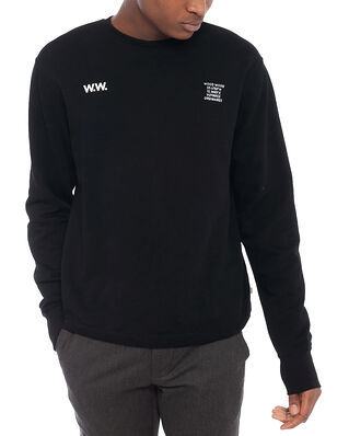 Wood Wood Hugh Sweatshirt Black
