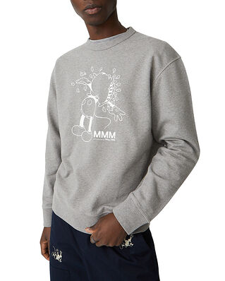 Wood Wood Hugo Sweatshirt Grey Melange