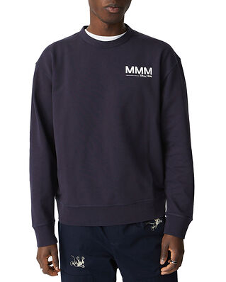 Wood Wood Hugo Sweatshirt Navy
