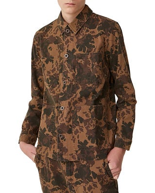 Wood Wood Axel Shirt Khaki Aop