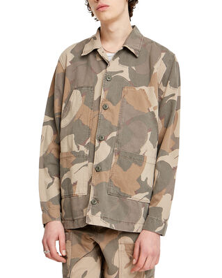 Wood Wood Fabian Shirt Brush Camo AOP