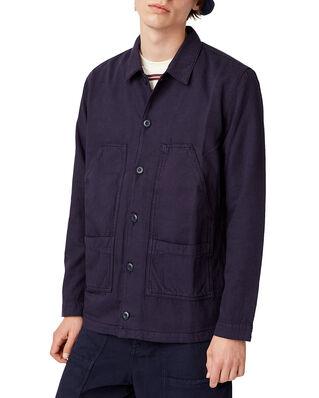 Wood Wood Fabian Shirt Navy