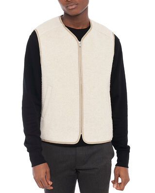 Wood Wood Victor Vest Light Beige