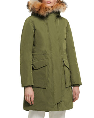 Woolrich W'S Military Parka Fr Dark Green