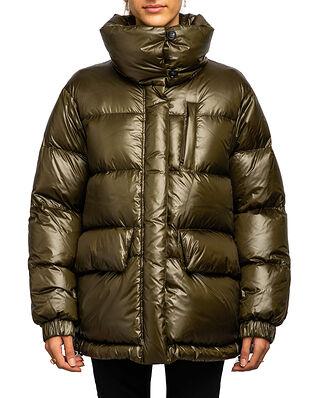 Woolrich Aliquippa Puffy Jacket Dark Green