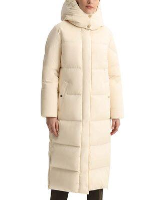 Woolrich Aurora Long Parka Ivory