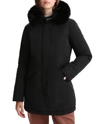 Woolrich Luxury Arctic Fox Parka Black