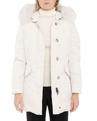 Woolrich W'S Luxury Arctic Parka Fox White Stone