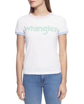Wrangler Ringer Tee Real White