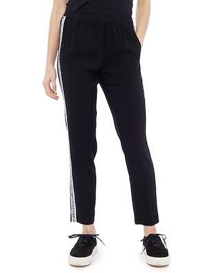 Zadig & Voltaire Paula Band Pants Black