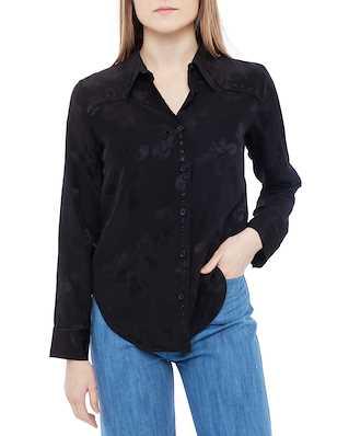Zadig & Voltaire Thelm Jac Paisley Shirt Black