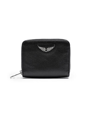 Zadig & Voltaire Mini Zv Wallet Black
