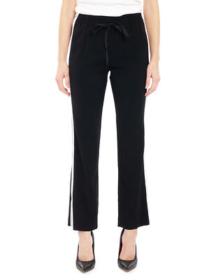 Zadig & Voltaire Poeme Pants Side Bands Permanent Black
