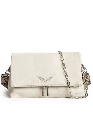 Zadig & Voltaire Rocky Grained Leather Wild