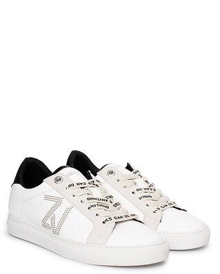 Zadig & Voltaire Zv1747 Zv Studs Smooth Calfskin Blanc