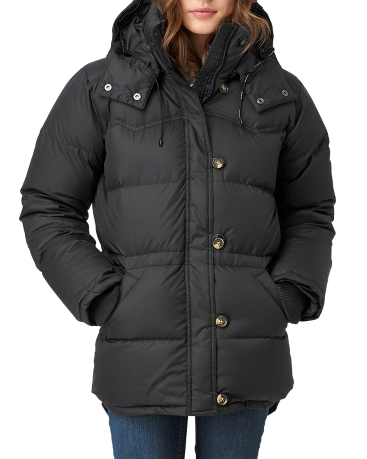 Alexandra Down Jacket Black