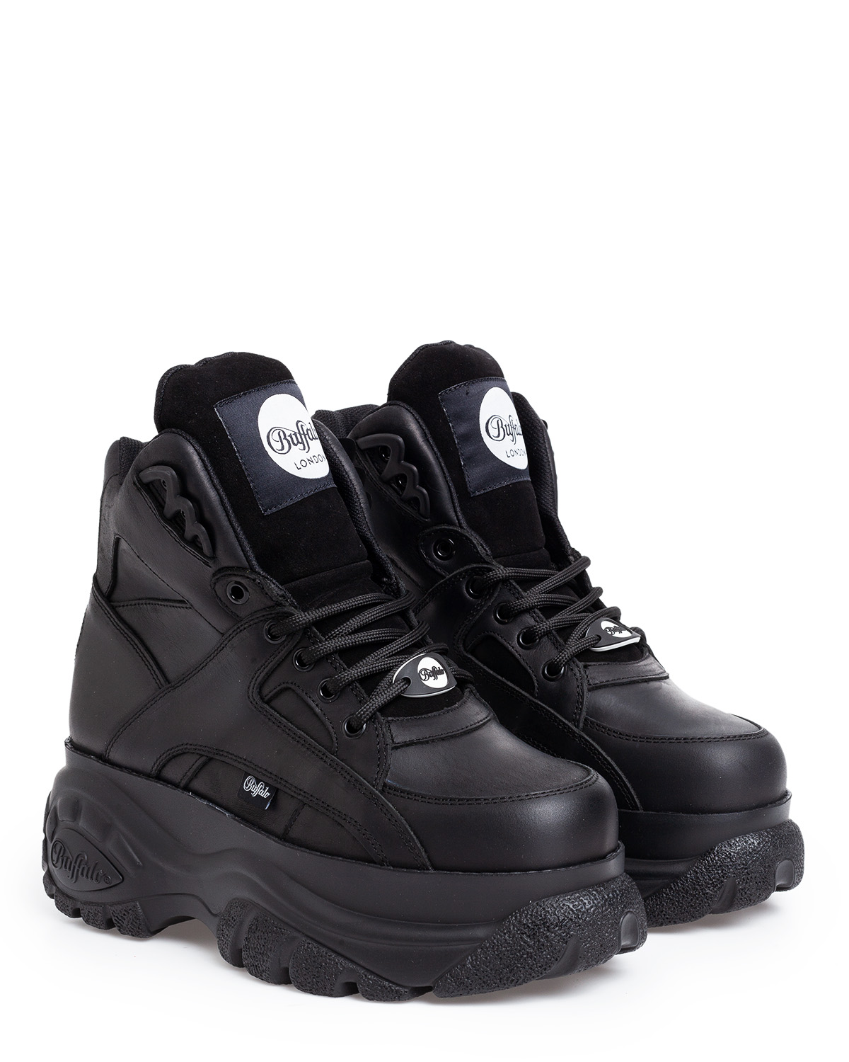 Classic High Leather Black