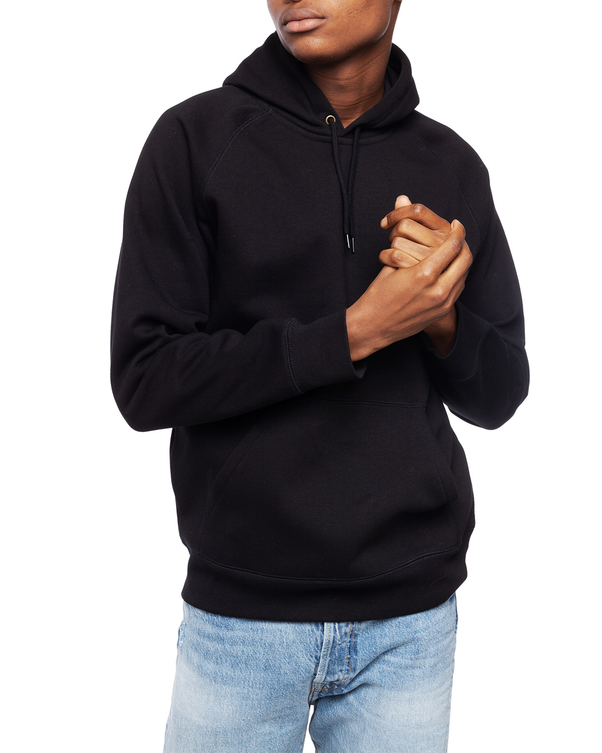 Hooded Chase Sweat BlackGold