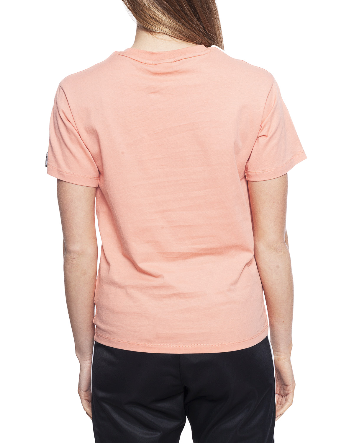 Fila TANDY - T-shirt med print - lobster bisque/bright white