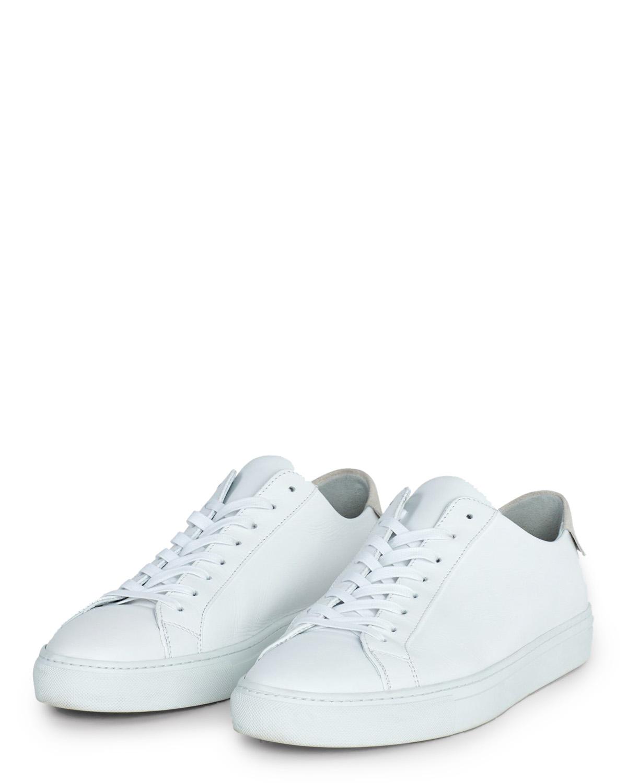 M. Morgan Low Mix Sneakers White