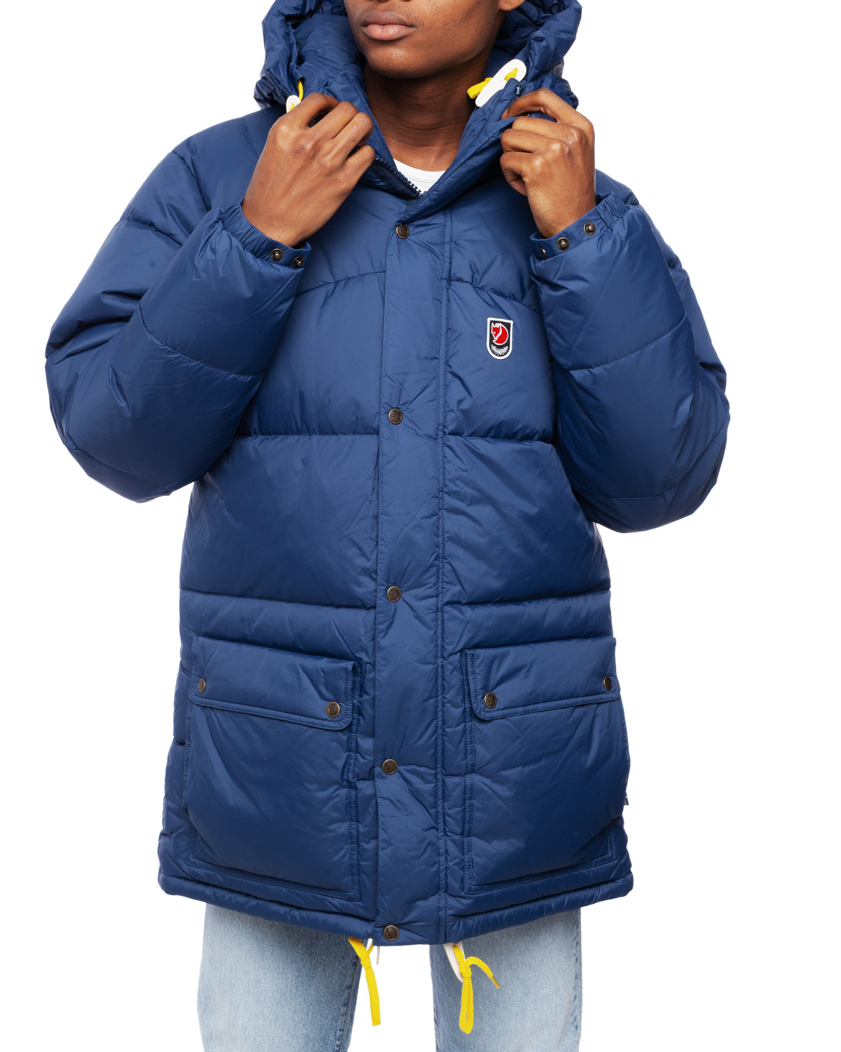 Expedition Down Jacket M Navy