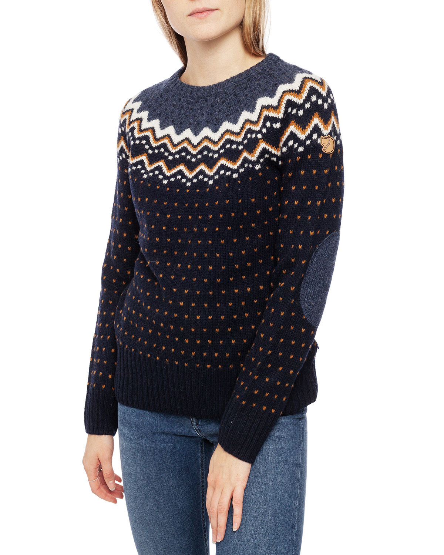 Övik Knit Sweater W Dark Navy