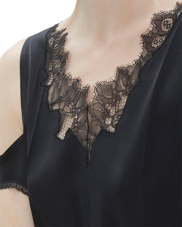 Helmut Lang Deconstructed Slip Dress Black Klänningar