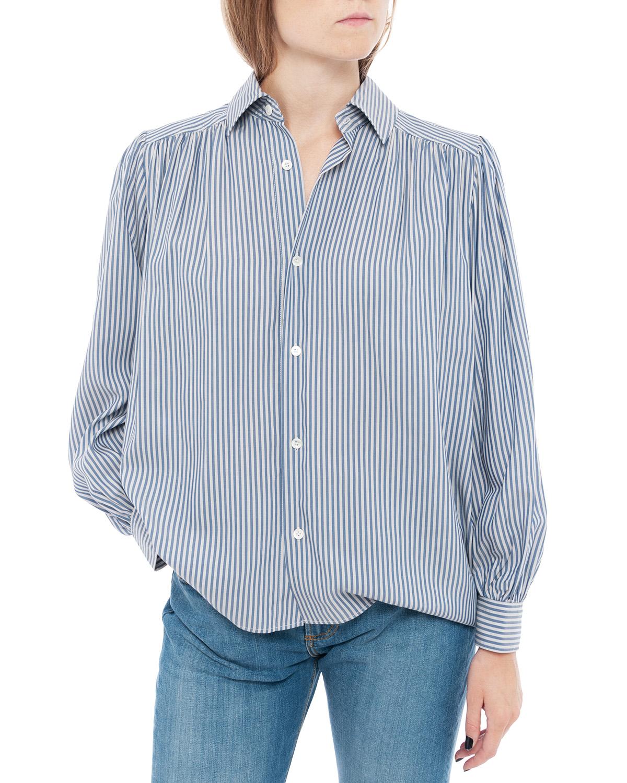 Lush Shirt Grey Stripe