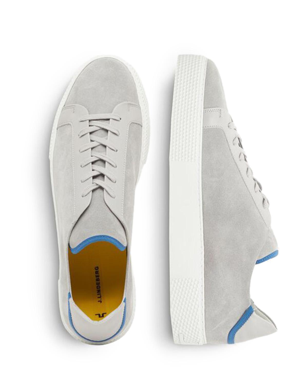 Sneaker LT QP Suede Stone Grey