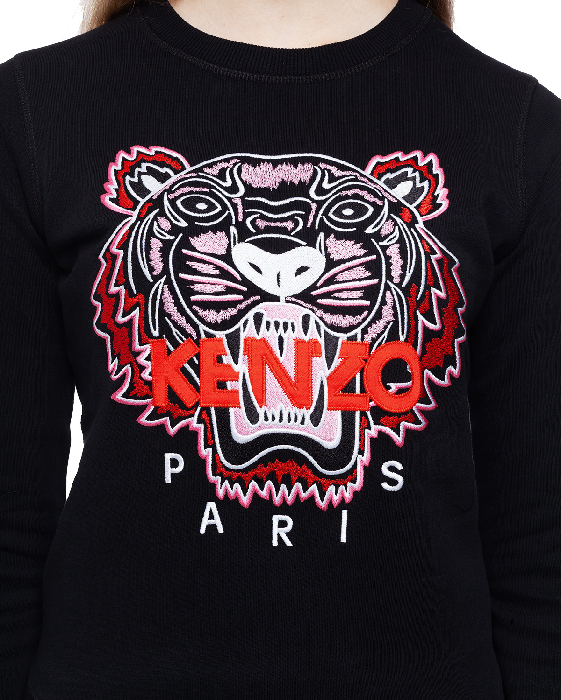 Black Tiger Sweatshirt  Kenzo  Tröjor