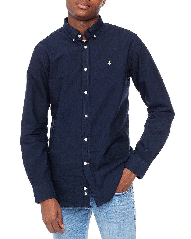 morris casuall skjortor, Morris Douglas Shirt Blue Män