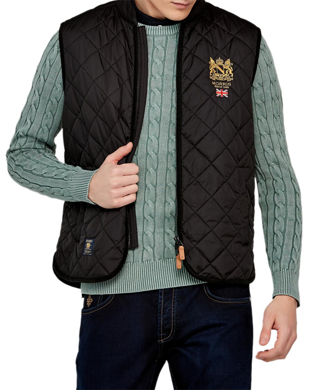 Trenton Quilted Vest 99 Black