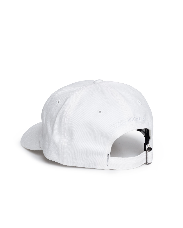 Twill Sports Cap White