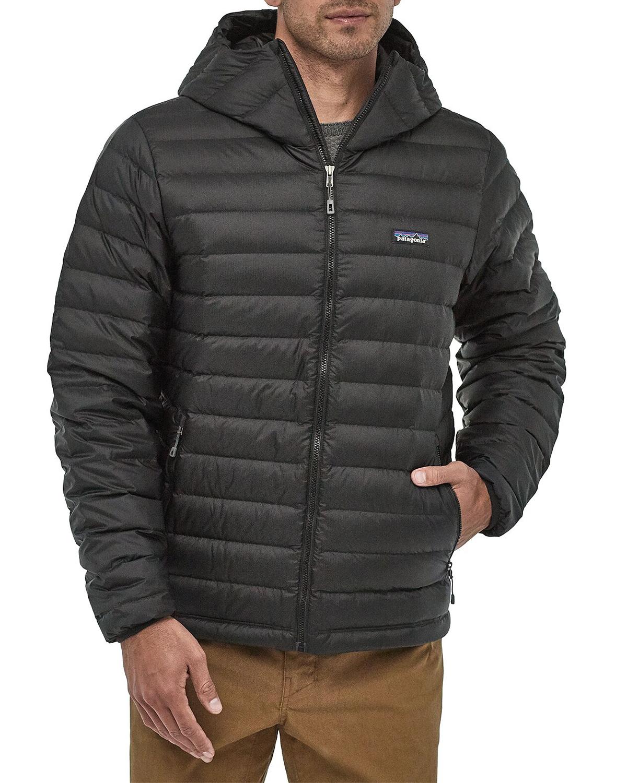 Patagonia M's Down Sweater Hoody Black | Fjellsport.no