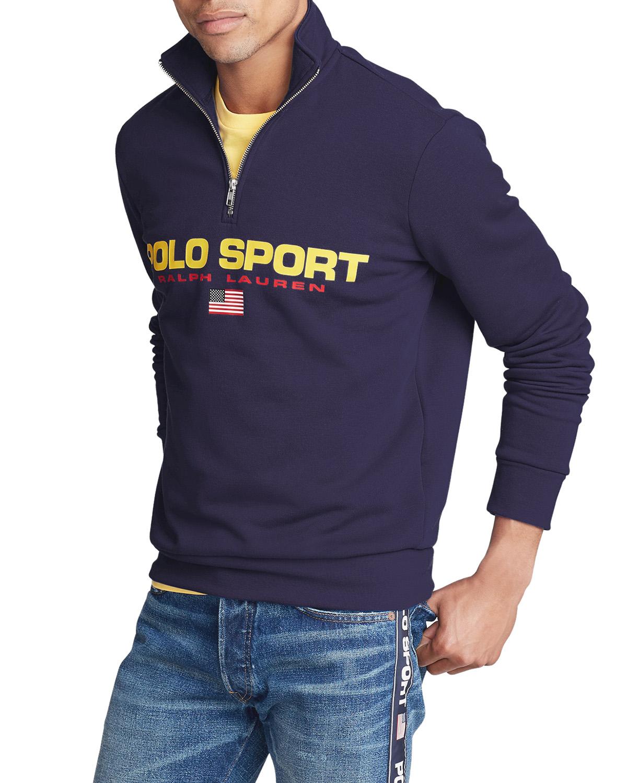 Polo Sport Fleece Sweatshirt Cruise Navy