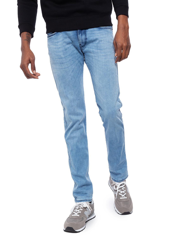 Replay ANBASS - Jeans straight leg - light blue